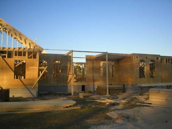 [转载]美国轻型木结构别墅住宅建造过程图解1