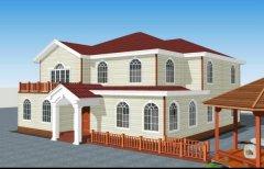 木塑钢结构集成房屋